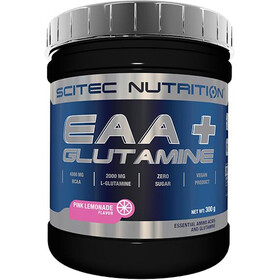 SCITEC EAA+Glutamine Powder 300g Pink Lemonade